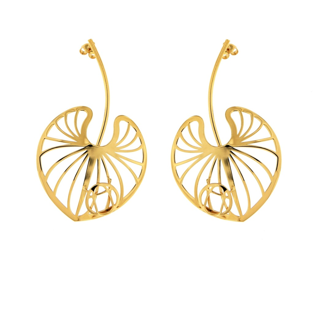 [RA1035AC] Lotos Collection Earrings