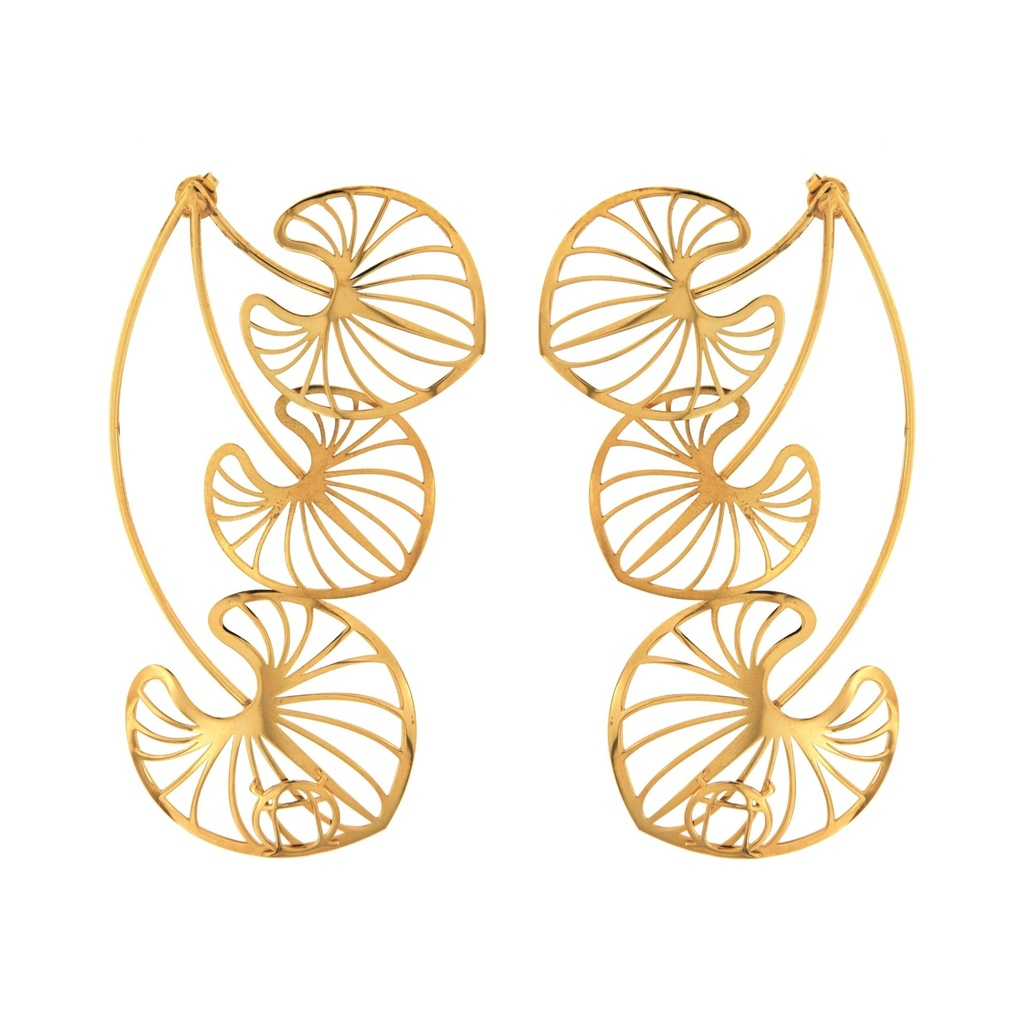 [RA1033AC] Lotos Collection Earrings